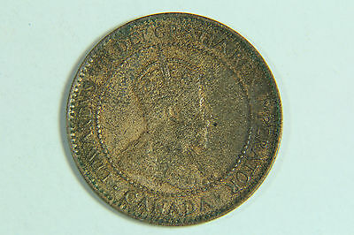 1905 Canadian Large Cent About Uncirculated C-145