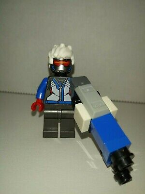 Overwatch Soldier: 76 Lego 75972 Minifigure with Heavy Pulse Rifle authentic