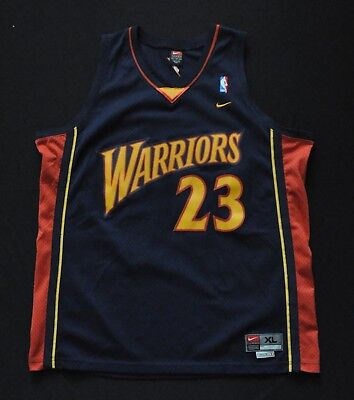 outlet store d6d3f 67f13 JASON RICHARDSON GOLDEN State Warriors Nike SWINGMAN JERSEY BLUE SEWN Mens  XL