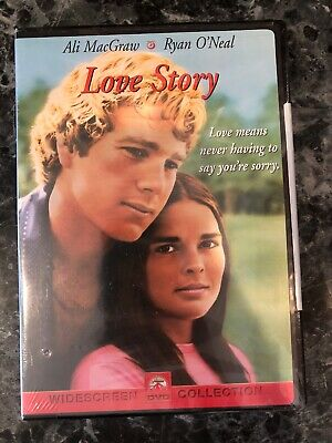NIB - Love Story (DVD, 2001, Widescreen) Ali MacGraw, Ryan O'Neal -NEW IN SHRINK