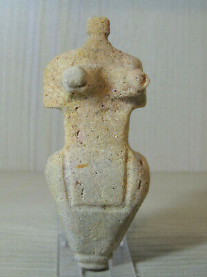 Antique Cicladic Stone Figure statuette,Fertility ,mother godess,Idol,god,Alien