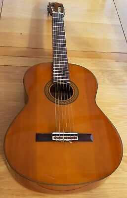 Yamaha G230 1970's classical guitar with vintage soft case