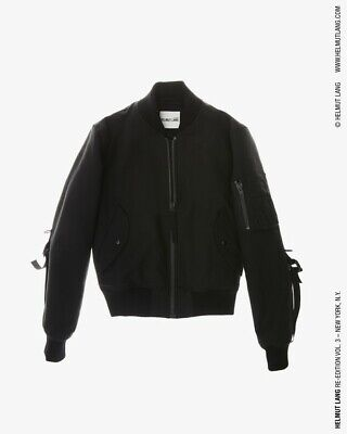 3ffc6fb32 HELMUT LANG RE EDITION MA-1 BONDAGE BOMBER Brand New With Tags Sz L
