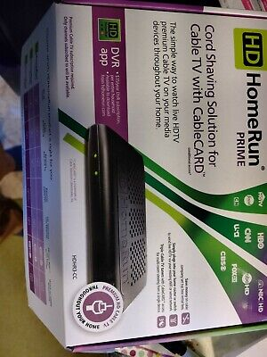 SILICONDUST HD HOMERUN Prime HDHR3-CC CableCARD Network TV