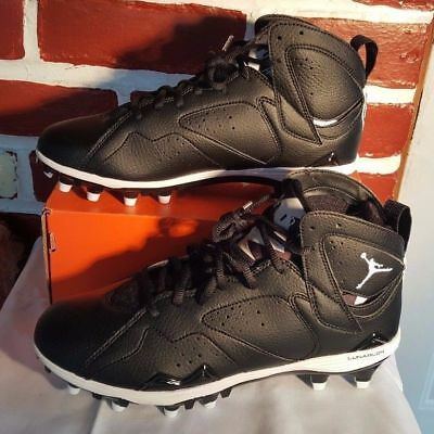 01d9c7df0b7e Nike Air Jordan Vii 7 Retro Td Football Cleats Size 11 Black White 719543- 010