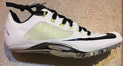 82ffe225f26e Nike Zoom Superfly R4 Track   Field Spikes Mens Size 12 White Volt  526626-170