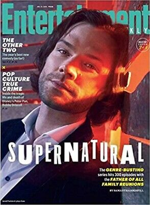 Entertainment Weekly January 25, 2019  Supernatural Sam -  NO LABEL