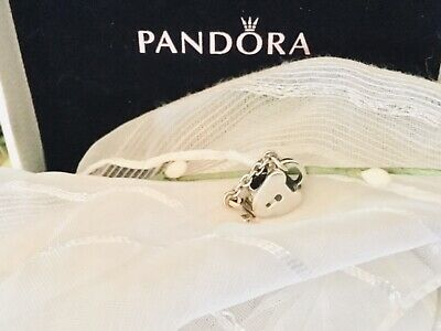 Authentic Pandora Key to my Heart Sterling Silver 925 locket with 14K Gold Key