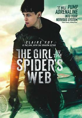 """the Girl In The Spider's Web""  (Dvd,2018)"