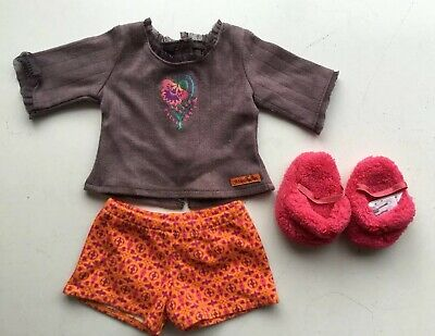"""American Girl Doll clothes - Retired set - Saige's Pyjamas - Fit 18"""" Doll"""