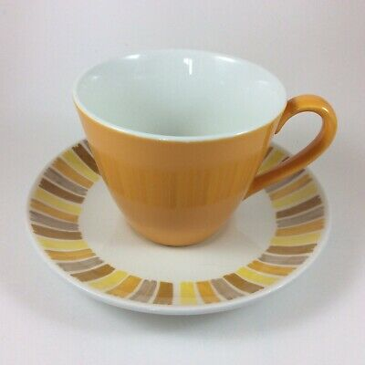 Johnson Brothers Snowhite Ironstone Cups And Saucers - Set Of Six