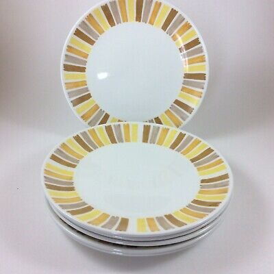 Johnson Brothers Snowhite Ironstone Bread And Butter Plates- Set Of 6