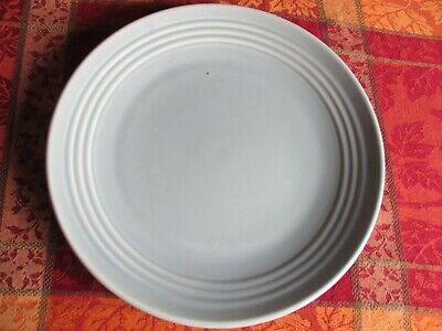 """Vintage Bauer Pottery light green 13"""" Round Chop Plate in great condition."""