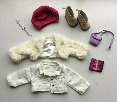 """American Girl Doll clothes - 2 Jackets, Boots, Hat & More - Fit 18""""doll"""