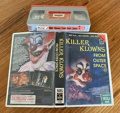 KILLER KLOWNS FROM OUTER SPACE - Old School Horror / RCA-Columbia / Year : 1987