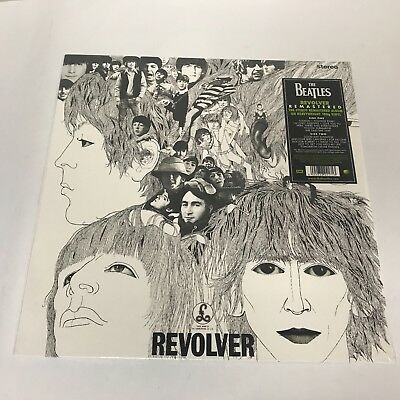 The Beatles Revolver LP sealed 180 gm vinyl RE reissue remastered
