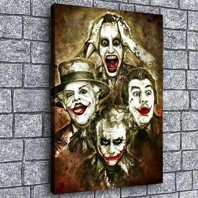 "12""x18""Marvel clown pictures hd canvas print home decor  wall art posters"