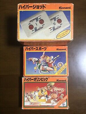 Game soft Famicom 『Hyper Olympics and Hyper Sport set of 2』 from Japan⑥