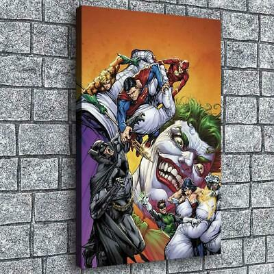 "12""x18""Marvel clown pictures hd canvas print home decor room wall art posters"
