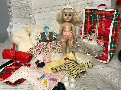 1950s Vintage Vogue Ginny Doll, SLW, Clothes(tags), Shoes, Nice Lot, Such Fun!