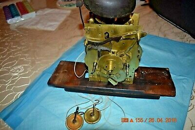 Antique Original ENGLISH Tall GRANDFATHER CLOCK 8 day MOVEMENT #4 for project