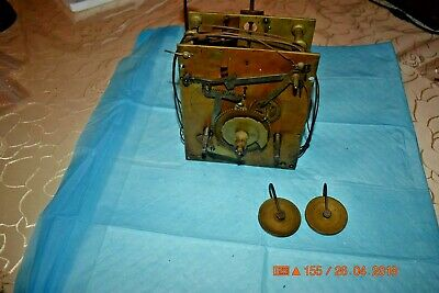 Antique Original Tall GRANDFATHER CLOCK 8 day MOVEMENT #5 for project