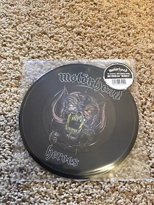 "Motorhead Heroes 7"" Picture Disc RSD Live at Wacken/limited edition"