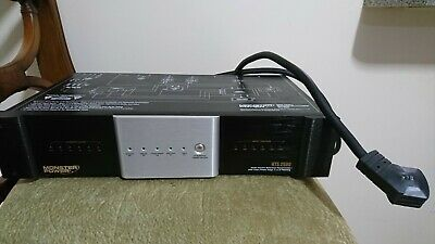 Monster Power HTS2600 Home Theater Reference Power Center Surge Protector