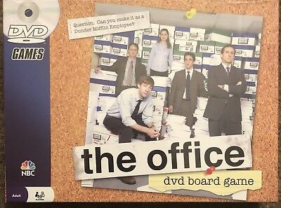 The Office DVD Board Game 2008 New Sealed Box Dwight Schrute Michael Scott NIB