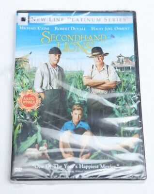 Secondhand Lions DVD Sealed New *FREE SHIPPING*