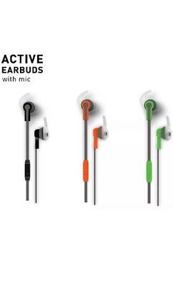 f50d0698eb4 SOUND LOGIC METALLIC Earbuds with Built-in Mic - $5.99 | PicClick
