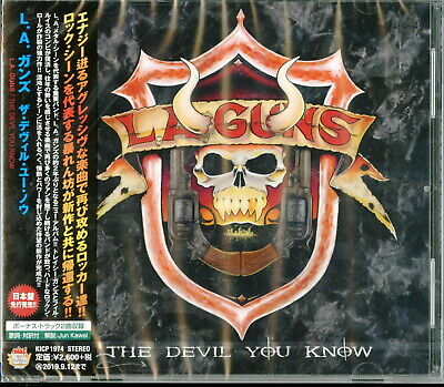 L.a. Guns-The Devil You Know-Japan Cd F83