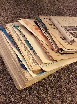 Piano Books Stack Of Misc. Vintage Sheet Music / Books 1940's - 1970's - ue