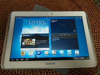 Samsung Galaxy Note GT-N8000, 16GB, Wi-Fi + 3G, 10.1in - White Tablet