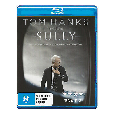 Sully Blu-ray Brand New Region B Aust. - Tom Hanks, Directed by Clint Eastwood