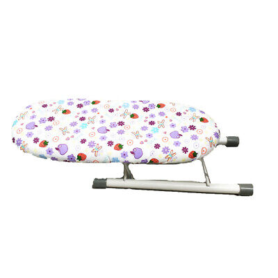 Ironing Board With Removable Cloth Cover Folding Sleeve Cuffs Mini Table