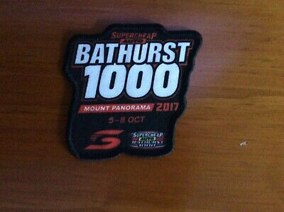 2017  Bathurst patch craig Lowndes Whincup  Brock Holden Ford Supercheap 1000