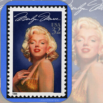 1995 MARILYN MONROE 1st Legends of Hollywood MINT Single 32¢ Stamp Cat# 2967