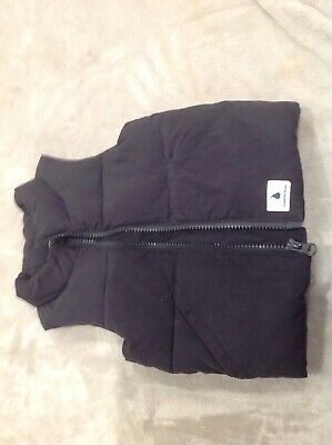 COUNTRY ROAD Baby Toddler SZ 1 Puffer Jacket Sleeveless Black