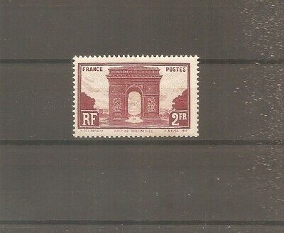 Timbre France Frankreich 1929 N°258 Neuf* Mh
