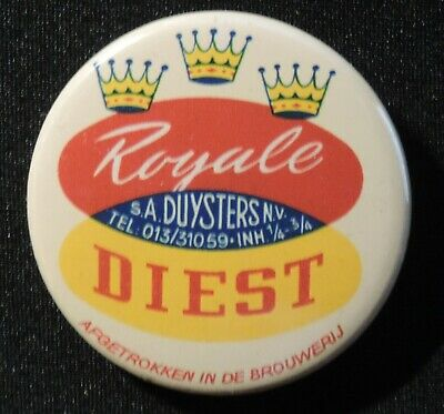 Pin Button Badge Ø38mm  Diest (bière) 1