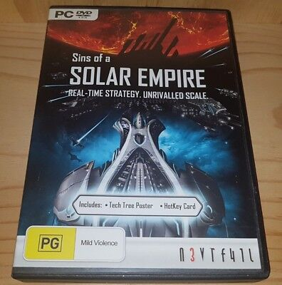 Sins of a Solar Empire Pc DVD Rom Game