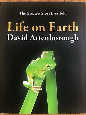 LIFE ON EARTH  book David Attenborough  RRP£25.00 NEW