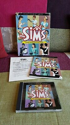 The Sims PC GAME Original Big Box Complete The Simms Collectable EA Maxis