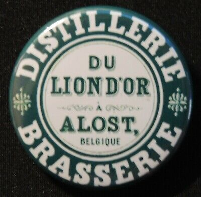 Pin Button Badge Ø38mm ( Ancienne bière - Bier - Beer ) ALOST #29