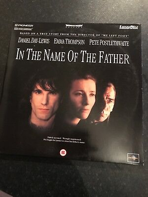 In the name of the father  daniel day lewis Laserdisc Widescreen Movie