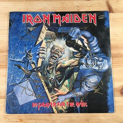 Iron Maiden No Prayer For The Dying Fully Autographed Signed Sealed