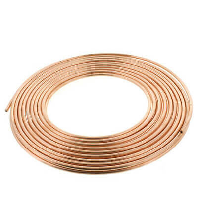 "1/4"" OD x 50' Copper Refrigeration Tubing Coil - DIY Beer Wort Chiller Brewing"