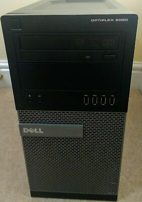 Dell OptiPlex 9020 MT PC Quad Core i5-4570 4x 3,2ghz 4 Go RAM 1000 Go HDD win10