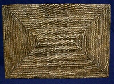 Restaurant Equipment Bar Supplies EXTRA LARGE RECTANGLE BROWN WEAVE TRIVET